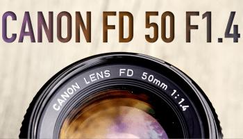 Canon FD 50mm F1 4 + Zhongyi Lens Turbo II Focal Reducer | Vintage
