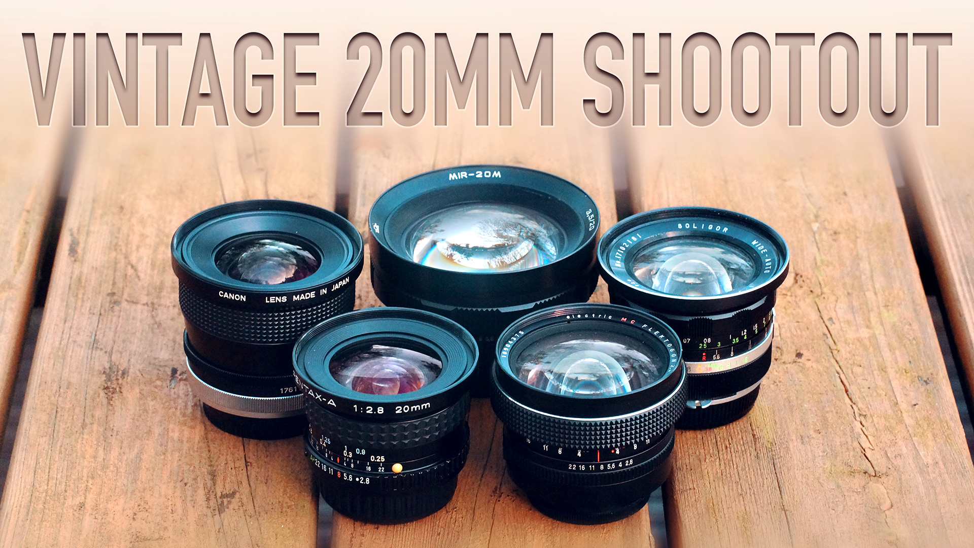 Vintage 20mm Shootout