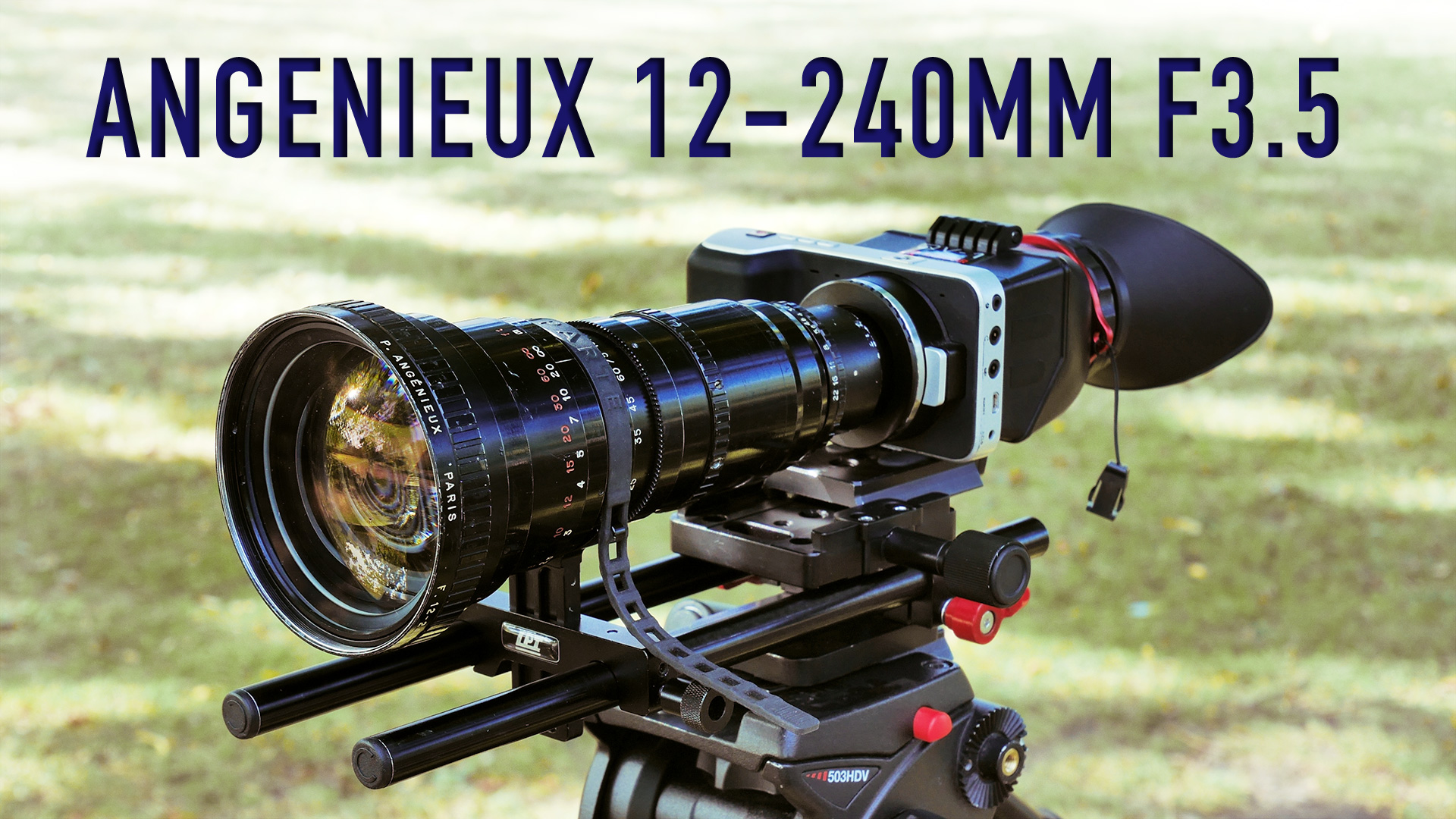 Using Angenieux 12-240mm F3.5 on BMPCC/S16 | In-Depth Review