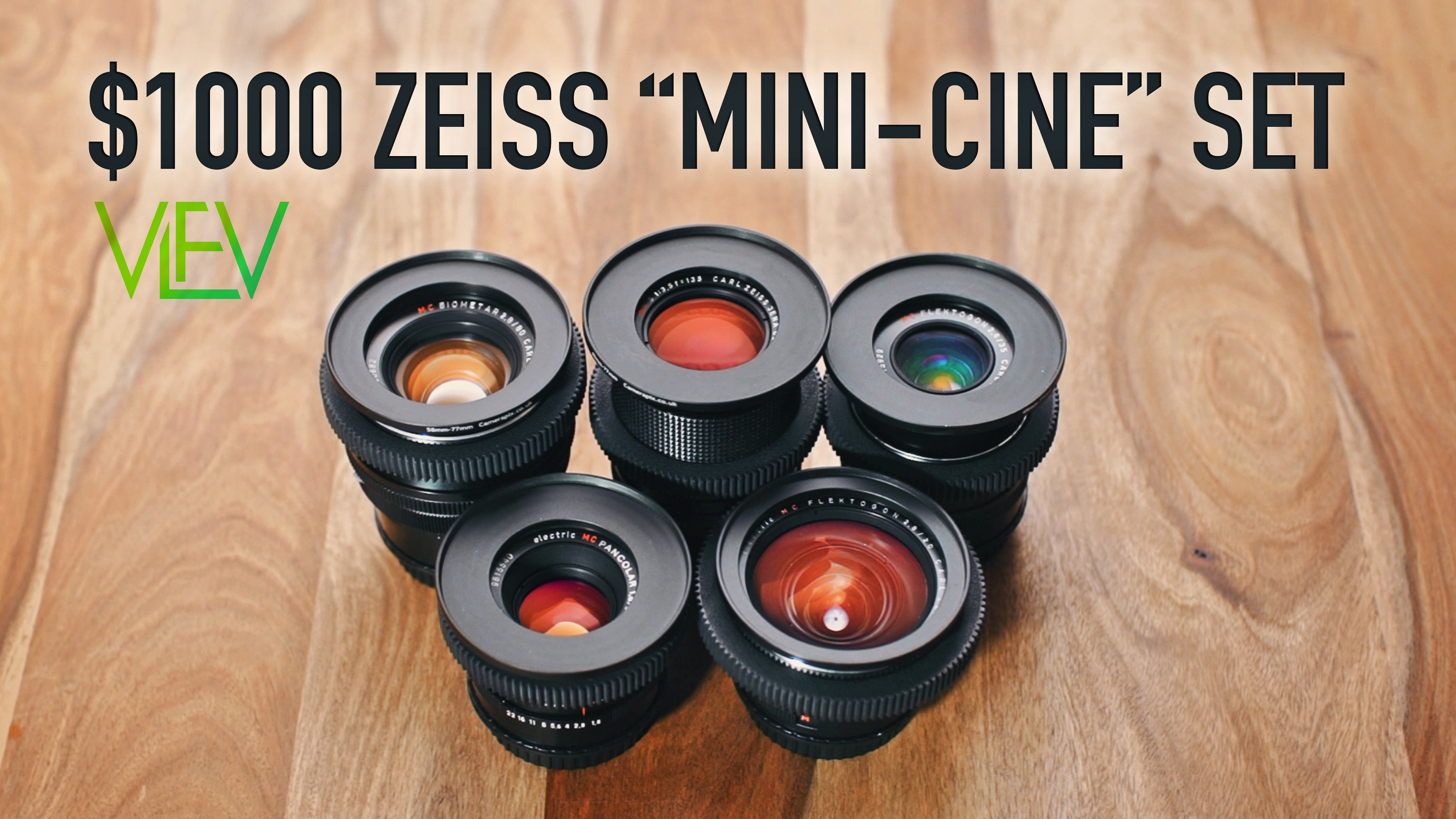"$1000 Carl Zeiss ""Mini-Cine"" Set 