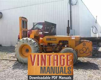 Case 430 Forklift Owner Operator's Manual