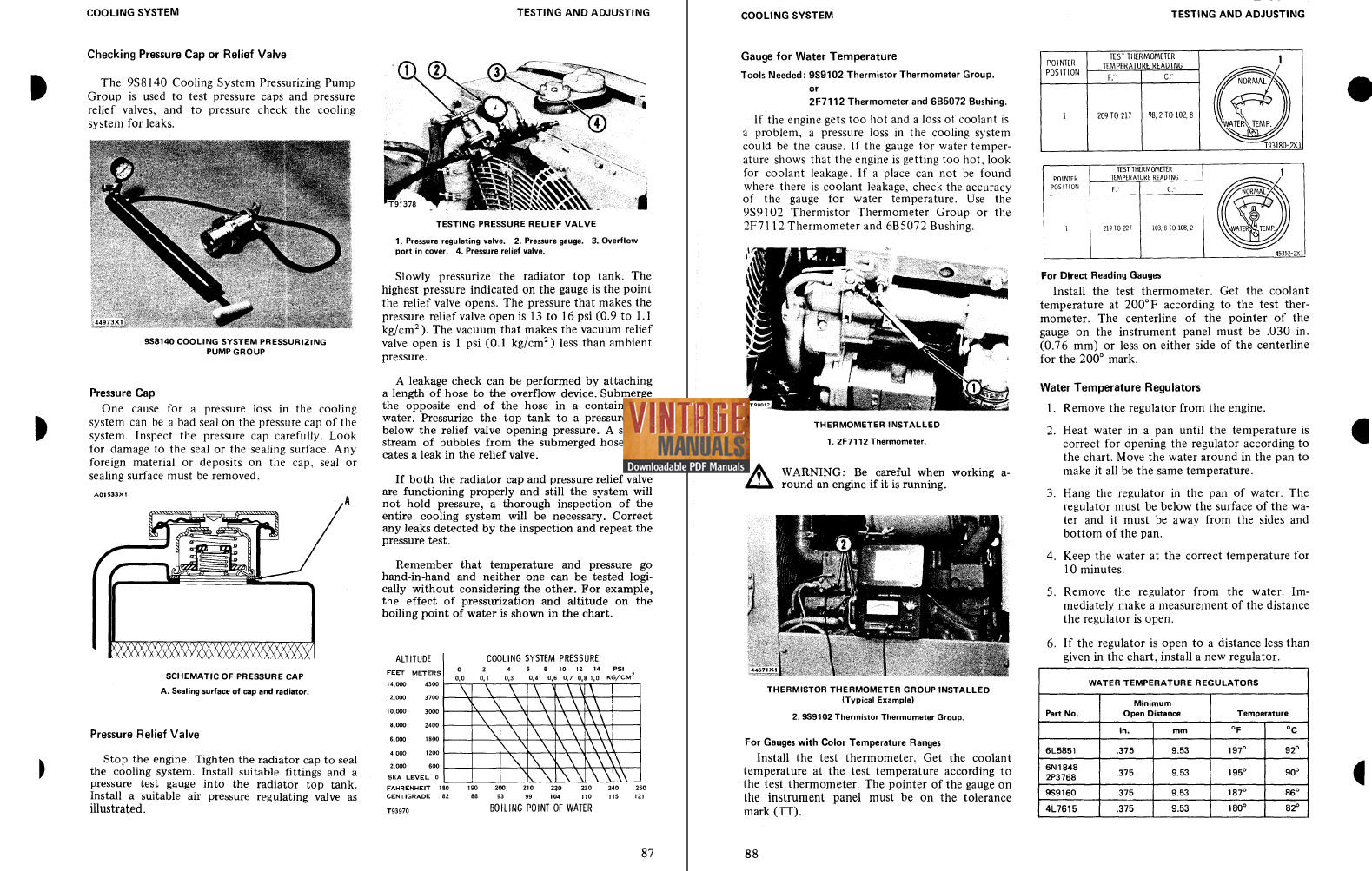 Caterpillar 35 Injection Pump Manual