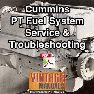 Cummins PT Fuel System