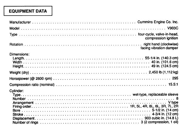 Cummins Engine Specifications: 2018 Cummins Isx12 Engine For