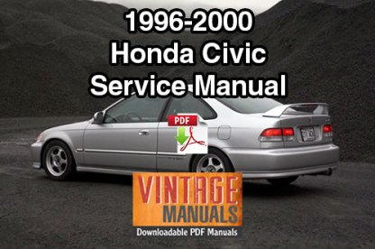 1996-2000 Honda Civic Repair Service Manual