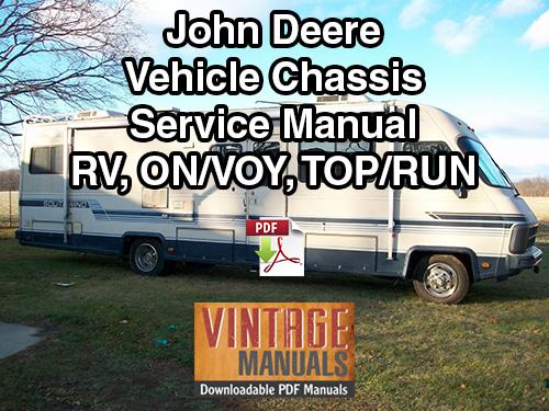 John Deere Vehicle Chassis Repair Manual PDF Gas Diesel VintageManuals