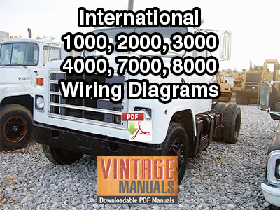 international 1000 2000 3000 4000 7000 8000 truck