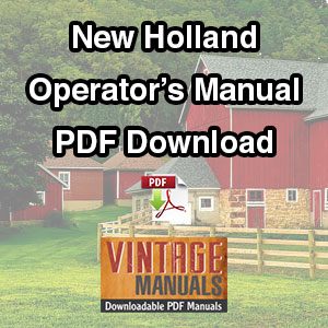 Ford-new-holland-operator's-manual-pdf-download