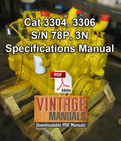 CAT 3304 3306 engine