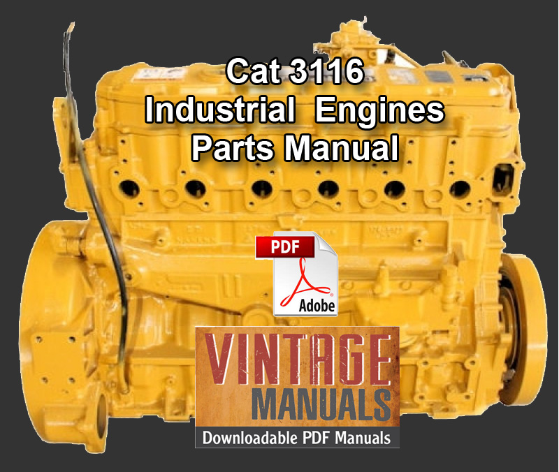 Caterpillar 3116 Industrial Engine 5en1