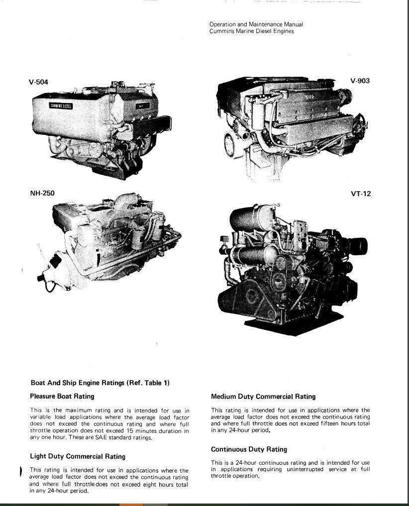 Cummins Marine Engines