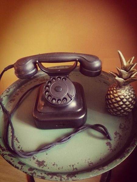 PTT Norm 51 bakeliet telefoon