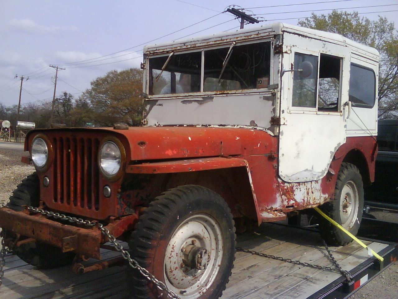 1963 Willys Jeep Wiring Cj Willys For Sale
