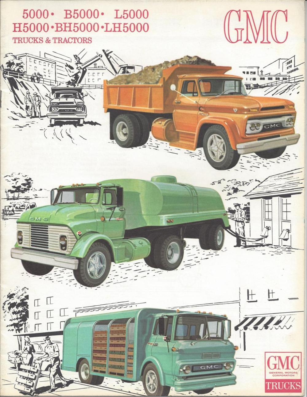medium resolution of  92 1965 gmc 5000 6x6 truck 5 500