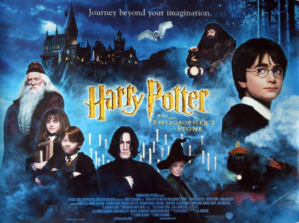 Harry Potter and the Philosopher39s Stone Movie Poster
