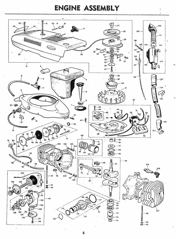 Diagram Victa Engine Diagrams