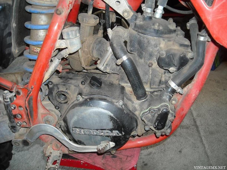 hight resolution of 1987 honda cr250 engine pre restoration