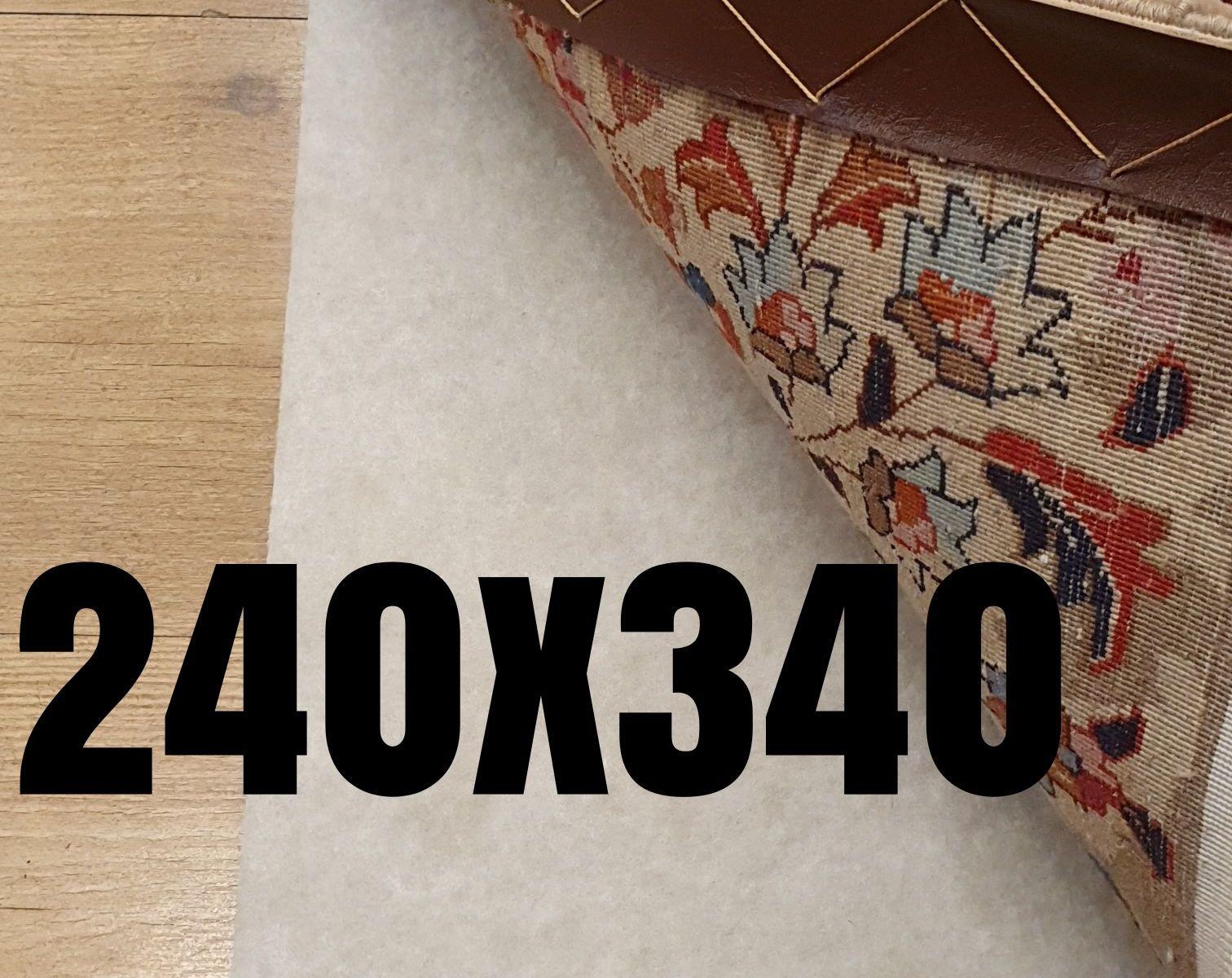 Anti slip tapijt vintageperzen 240x340