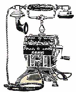 European Bell and Western Electric Desk Phones