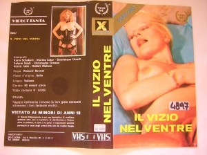 Il vizio nel ventre (1987) Classic Italian Porn