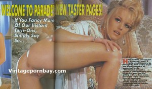 Parade Vintage Porn Magazine 258 (UK) (1990s) – Stacey K / Lydia S [Full Scans]