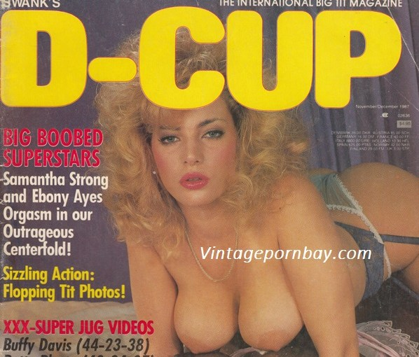 D-Cup Vintage Erotica Magazines 80's covers (1987-89) [Full Scans]