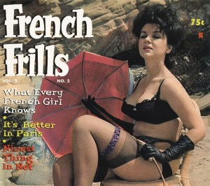 French Frills Vintage Erotic Magazine – Vol.2#2, 1962 (Complete) [Full Scans]
