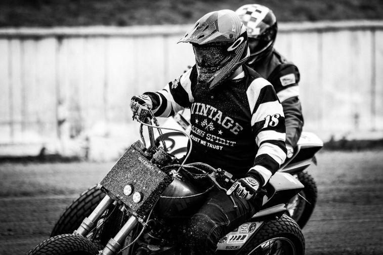 Flat Track - Vintage Racing Spirit - Morgan Bove 9