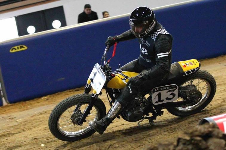 Flat Track Indoor - Vintage Racing Spirit - Ian Osborne 9