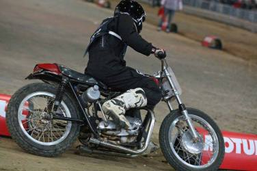 Flat Track Indoor - Vintage Racing Spirit - Ian Osborne 16