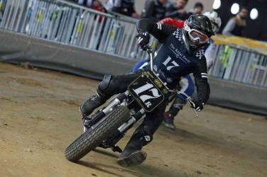 Flat Track Indoor - Vintage Racing Spirit - Ian Osborne 17