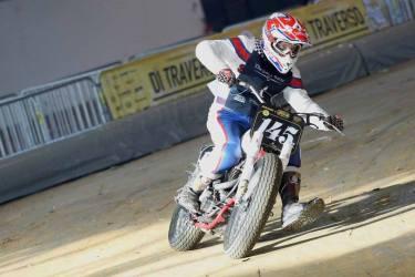 Flat Track Indoor - Vintage Racing Spirit - Ian Osborne 19