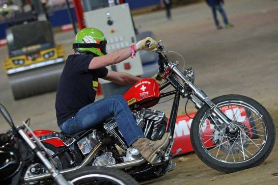 Flat Track Indoor - Vintage Racing Spirit - Ian Osborne 22