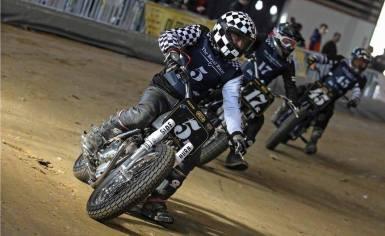 Flat Track Indoor - Vintage Racing Spirit - Ian Osborne 24