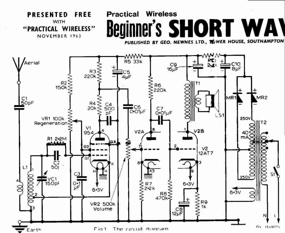 medium resolution of antique radio wiring diagram wiring diagrams wni antique radio wiring diagrams antique radio wiring diagram