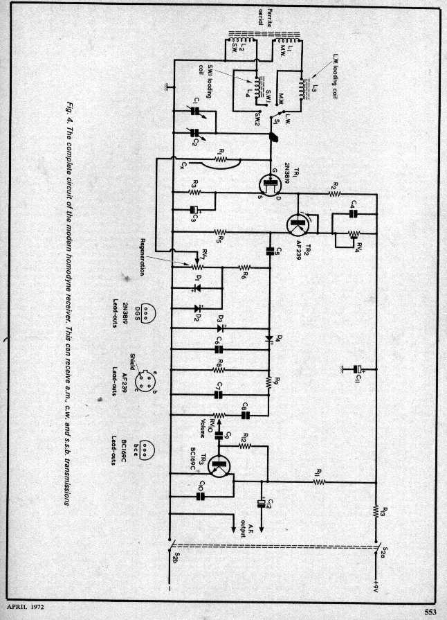 Do you have a good two transistor AM radio schematic