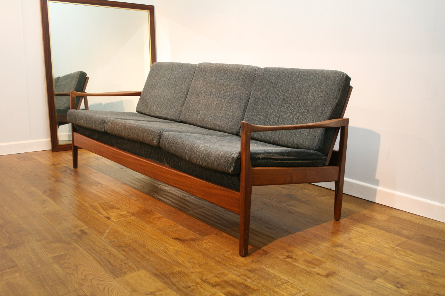 retro style sofa uk finlay corner john lewis 60s greaves and thomas teak for re upholstery
