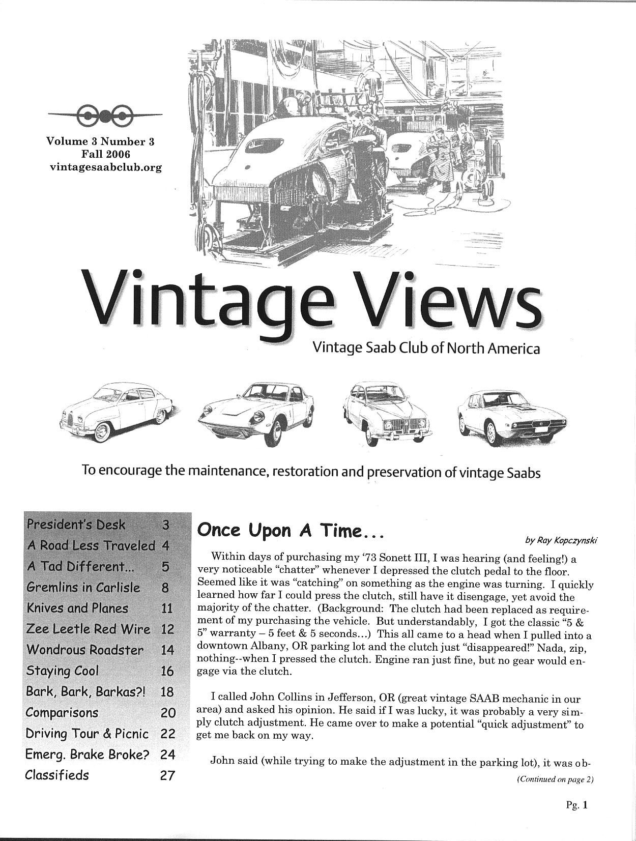 Vintage Views The Newsletter Of The Vscna