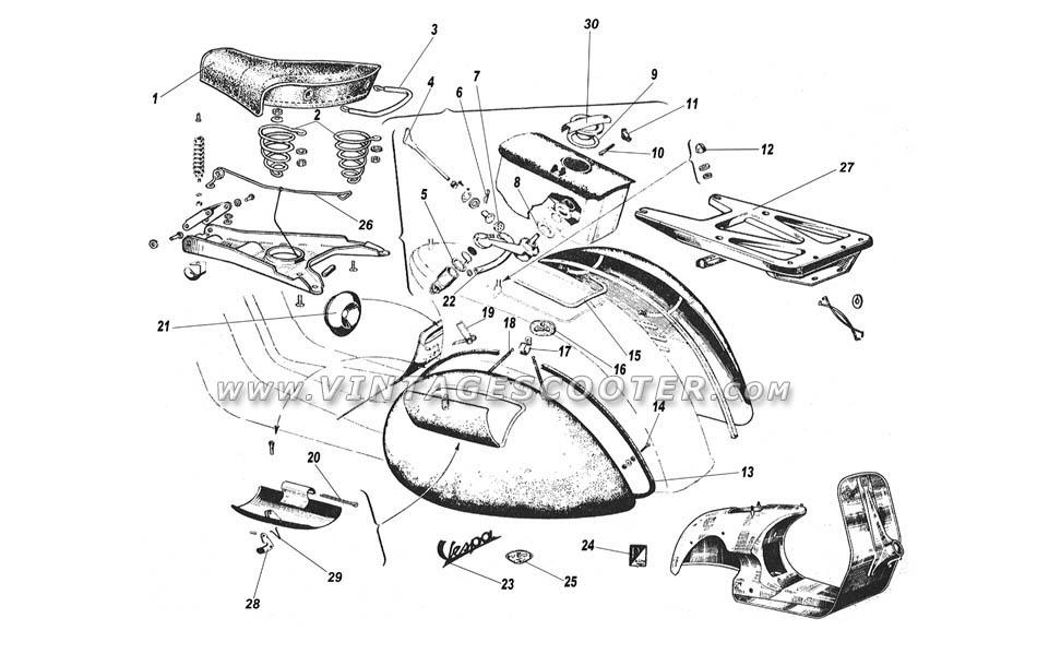 vespa rally wiring diagram