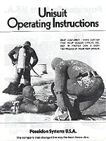 Vintage Scuba Diving Reproduction Instruction Manuals For Sale