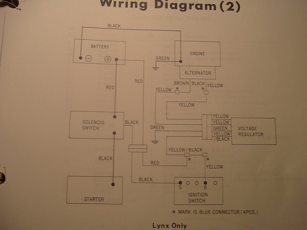 medium resolution of arctic cat 1973 arctic cat lynx wiring diagram arctic cat schematic diagrams