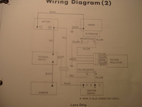 small resolution of arctic cat 1973 arctic cat lynx wiring diagram arctic cat schematic diagrams