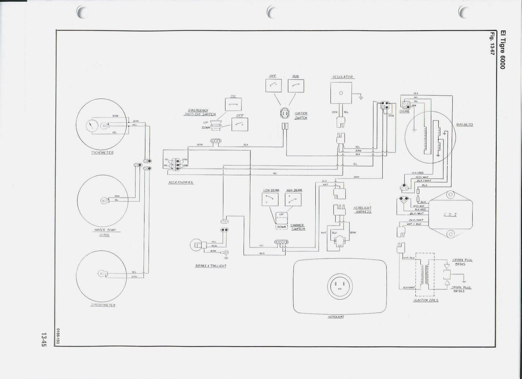Wiring Diagram Arctic Cat Spirit