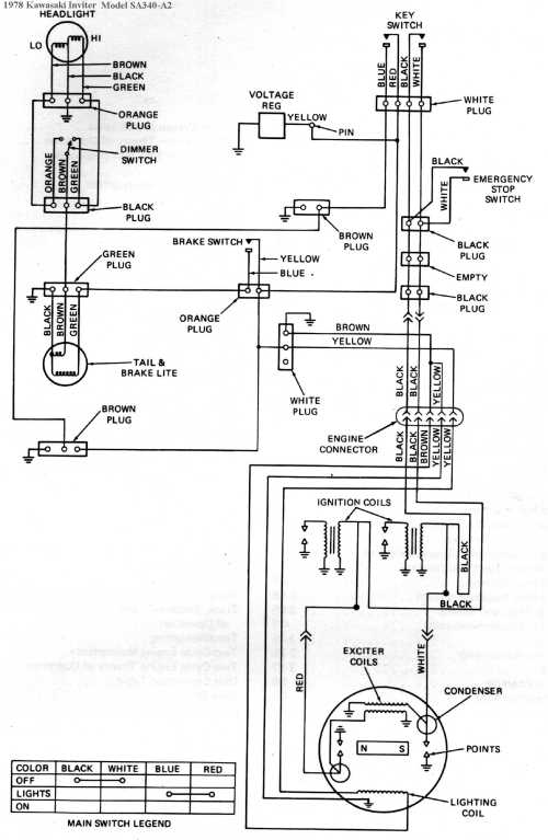 small resolution of 1981 kawasaki wiring diagram kawasaki1981 ltd electric start 1981 ltd manual start 1982 interceptor
