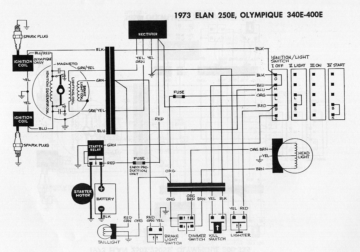1980 ski doo citation 4500 wiring diagram
