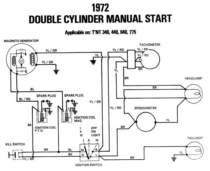wiring diagram 1974 gpx snowmobile