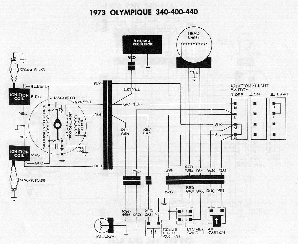 [WRG-1907] Ski Doo Grand Touring Wiring Diagram