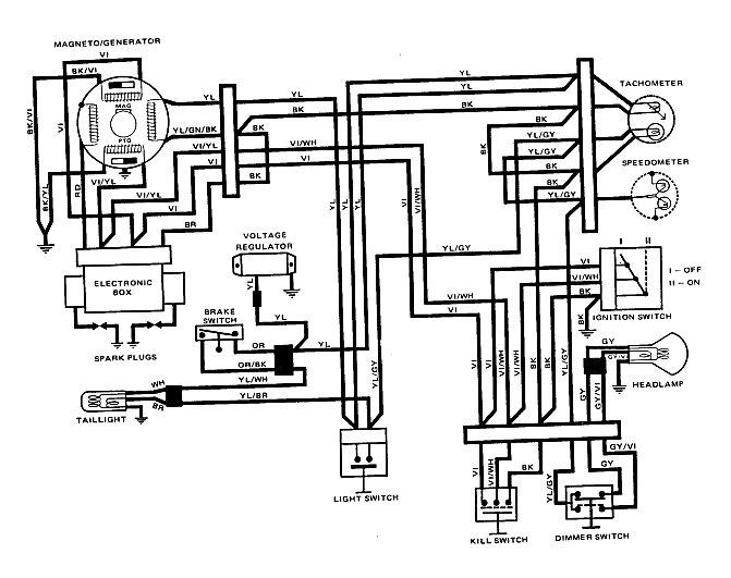 2003 440 ski doo wiring diagram