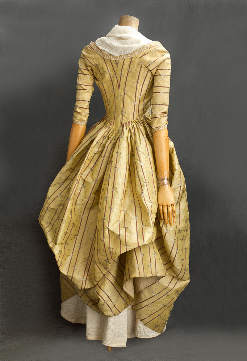 18th Century Clothing at Vintage Textile: #2811 French