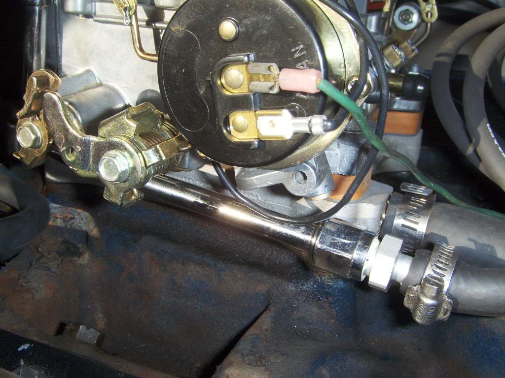 edelbrock electric choke wiring diagram for motor vaccum leak on carb vintage thunderbird club